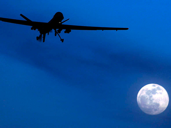 A U.S. Predator drone making a night flight. Yousuf Raza Gilani, Pakistan´s prime minister from 2008 to 2012, took issue with a Washington Post report on endorsements of U.S. drone strikes.
