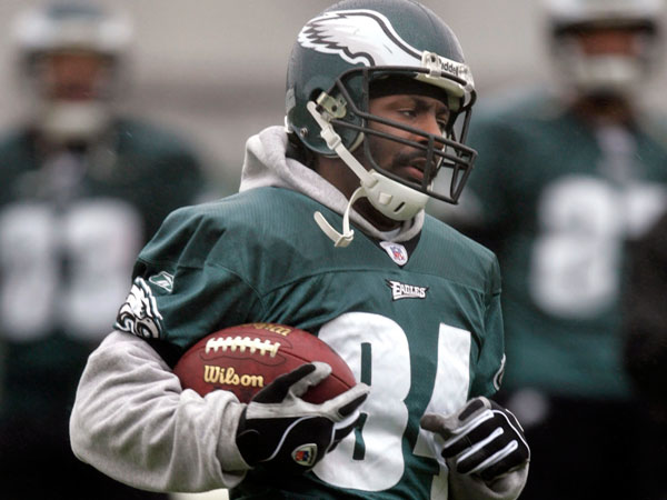 Former Eagle Freddie Mitchell. (Rusty Kennedy/AP file)