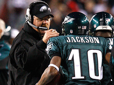 DeSean Jackson scored two touchdowns in the first half for the Eagles. (Ron Cortes/Staff Photographer)
