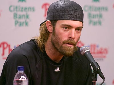 Jayson Werth is now a free agent after a strong run with the Phillies. (Ron Tarver/Staff Photographer)