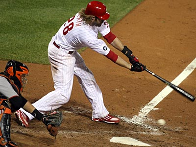 Jayson Werth struck out in what could have been his final at-bat as a Phillie. (David M Warren / Staff Photographer)