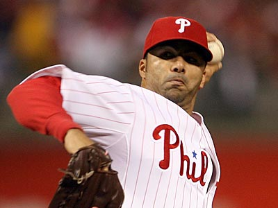 The Phillies have declined J.C. Romero´s option and he will become a free agent. (Yong Kim / Staff Photographer)