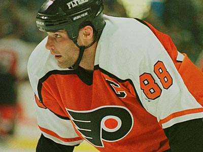 Eric Lindros said that he will participate in the Winter Classic Alumni game. (Don Heupel/AP)