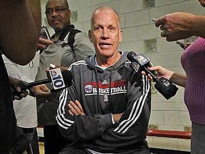 """We really have a lot of high-character guys on this team,"" Doug Collins said. (Alejandro A. Alvarez/Staff Photographer)"