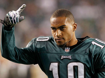 "DeSean Jackson told the Inquirer that this year has been ""an uphill battle."" (AP file photo)"