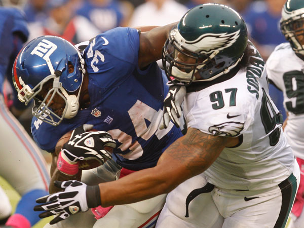 Scouting the Eagles and the Giants