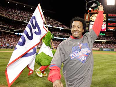 Pedro Martinez will get the start in Game 2 of the World Series at Yankee Stadium, Phillies manager Charlie Manuel announced today. (Yong Kim / Staff Photographer)