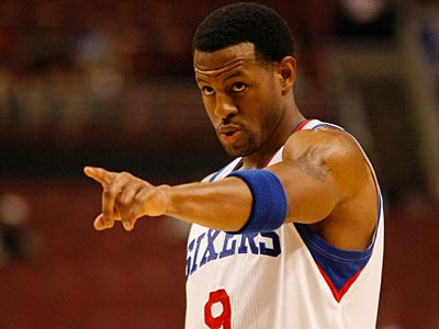 Andre Iguodala and the Sixers open up their 2010-2011 season with the Miami Heat at home at the Wells Fargo Center. (Michael S. Wirtz / Staff File Photo)