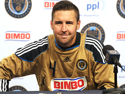 Former Union captain Danny Califf is among the players available in this year´s MLS Re-Entry Draft. (Sarah J. Glover/Staff file photo)