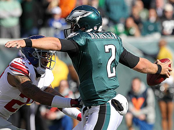 Eagles quarterback Matt Barkley. (Yong Kim/Staff Photographer)