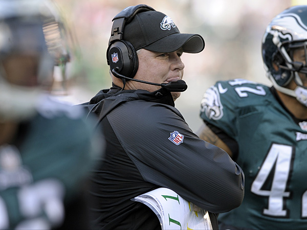 Eagles head coach Chip Kelly. (Michael Perez/AP)