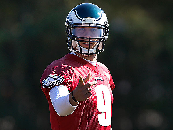 Foles returns to practice; he could play Sunday