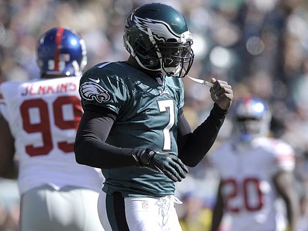 Philadelphia Eagles quarterback Michael Vick. (Michael Perez/AP)