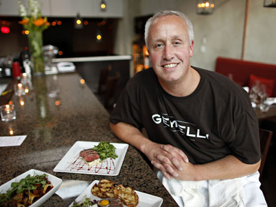 Clark Gilbert, chef/owner of Gemelli on Main in Manayunk.