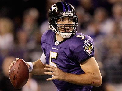 Can Joe Flacco and the Ravens cover a double-digit spread against the Cardinals? (Patrick Semansky/AP)
