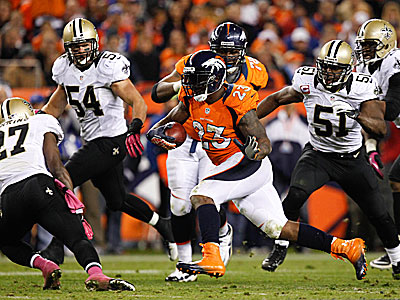 The Saints are ranked last in the league in total defense. (David Zalubowski/AP)