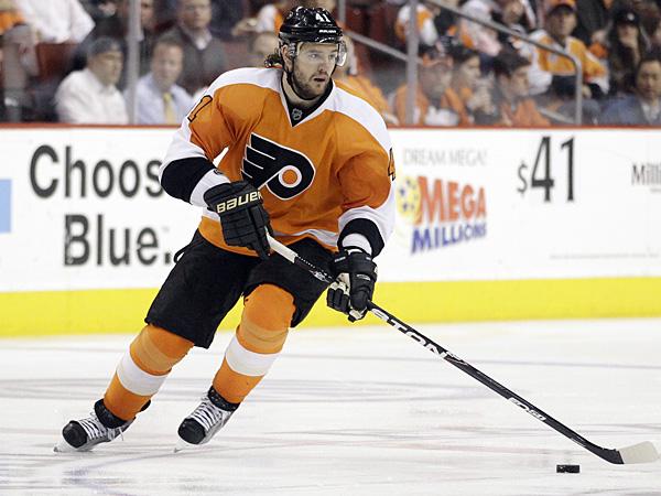 Flyers defenseman Andrej Meszaros. (Matt Slocum/AP)