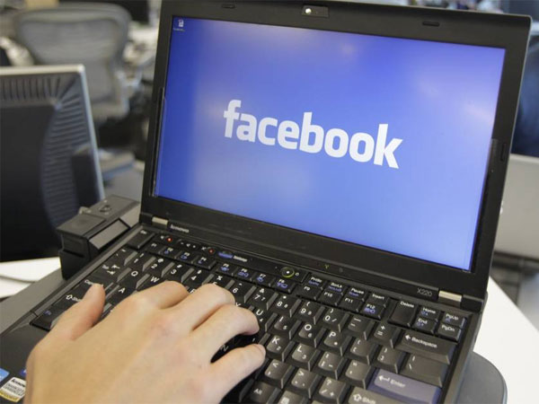 FILE - This Feb. 8, 2012, file photo, shows a view inside Facebook headquarters in Menlo Park, Calif. (AP Photo/Paul Sakuma, File)