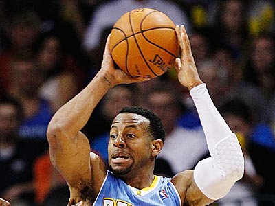 """You have really passionate fans there. So you´re probably going to get both sides,"" Andre Iguodala said. (Sue Ogrocki/AP)"