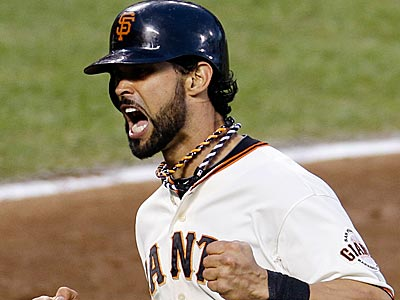 Angel Pagan would give the Phillies a switch-hitter with outstanding speed at the top of the order. (AP file photo)
