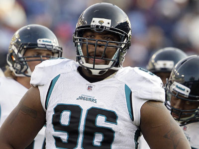 Former Temple Owl and current  Jacksonville Jaguars defensive tackle Terrance Knighton had a stellar performance this week. (Wade Payne/AP file photo)