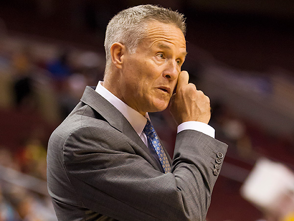 76ers coach Brett Brown. (Chris Szagola/AP file photo)
