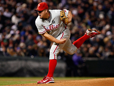 Joe Blanton will start for the Phillies in Game 4 of the World Series. (Ron Cortes / Staff Photographer)