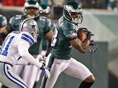 Eagles WR Jeremy Maclin is optimistic that he´ll be able to contribute vs. the Jets. (Ron Cortes/Staff Photographer)
