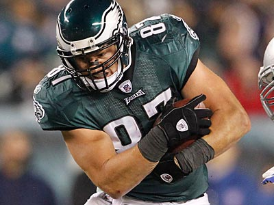 Brent Celek led all NFL tight ends in yards in 2011. (Ron Cortes/Staff Photographer)