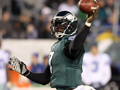 Michael Vick played one of his best games as an Eagle Sunday night against the Cowboys. (Yong Kim/Staff Photographer)
