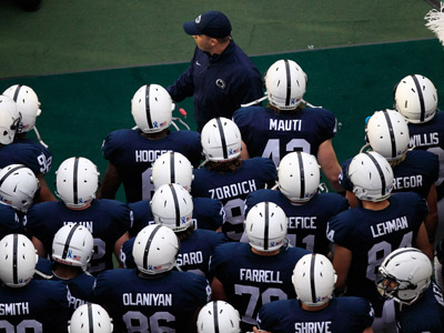 Bill O´Brien will lead the Nittany Lions onto the field against Purdue on Saturday. (Gene J. Puskar/AP)