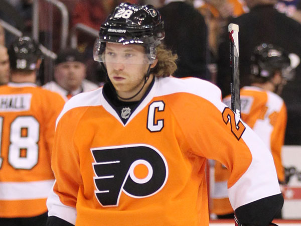 Flyers captain Claude Giroux. (Yong Kim/Staff file photo)
