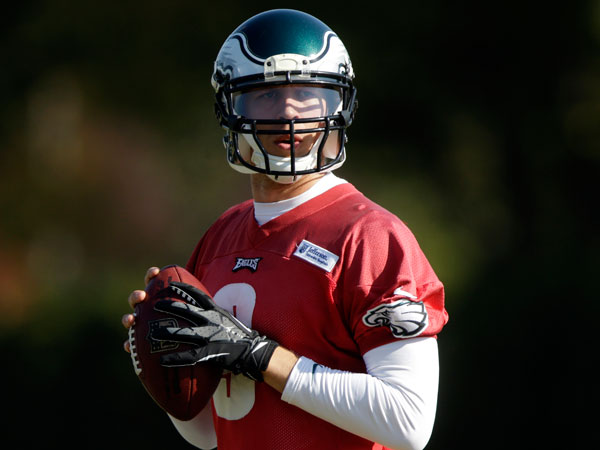 Foles the Eagles' starter, at least this week