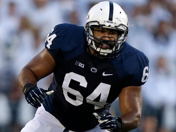 Penn State guard John Urschel. (Gene J. Puskar/AP)