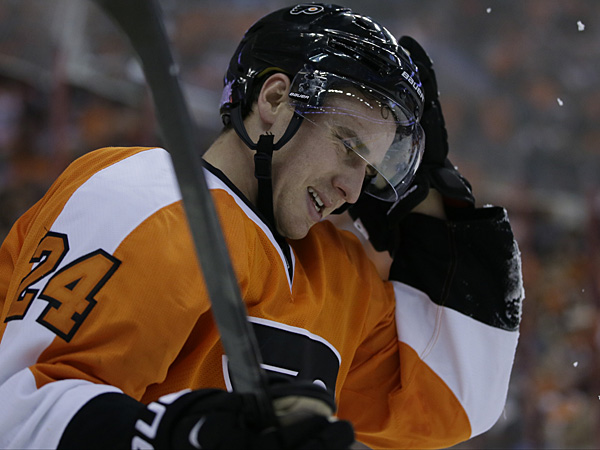 Flyers forward Matt Read. (Matt Slocum/AP)