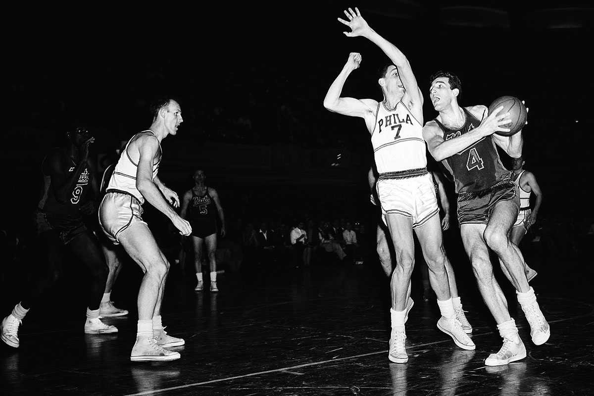 Sixers Nationals legend Dolph Schayes s at 87