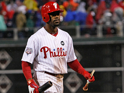 The Phillies have exercised their option for Jimmy Rollins for 2011.  It is worth $8.5 million. (Ron Cortes/ Staff photographer)