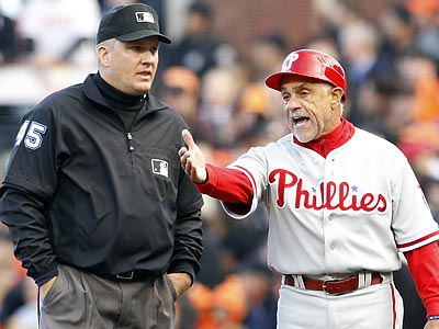 Phillies first base coach Davey Lopes will not return next season. ( Yong Kim / staff photographer )