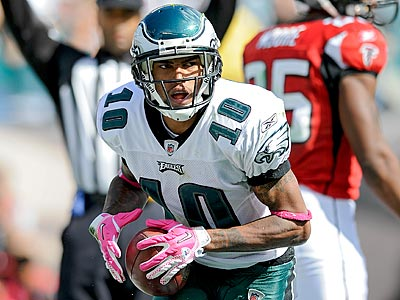 DeSean Jackson will be a game-time decision for Sunday´s game against the Colts. (Clem Murray/Staff Photographer)