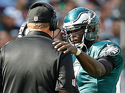 """I´ve got to go and I´ve got to play lights out,"" Michael Vick said about his play. (David Maialetti/Staff file photo)"