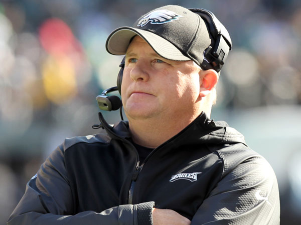 Eagles coach Chip Kelly. (Yong Kim/Staff Photographer)