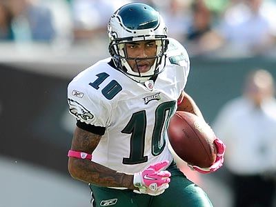 DeSean Jackson has not yet been cleared to play in Sunday´s game against the Colts. (Clem Murray/Staff Photographer)