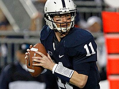 Penn State quarterback Matt McGloin. (Gene J. Puskar/AP)