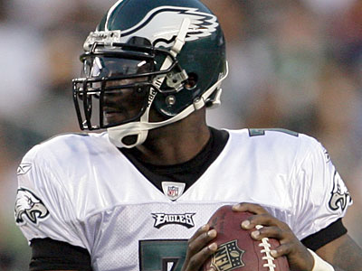 Michael Vick and the Eagles take on the Colts Sunday at the Linc. (Yong Kim / Staff Photographer)