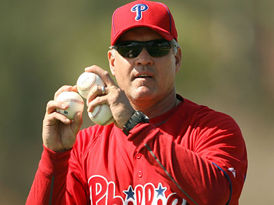 The Phillies have promoted Ryne Sandberg to be the team´s third base coach. (Yong Kim/Staff file photo)