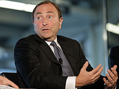 NHL commissioner Gary Bettman. (Kathy Willens/AP)