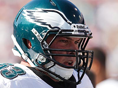 Eagles drafted Danny Watkins in the first round of the 2011 NFL Draft. (Derek Gee/AP)