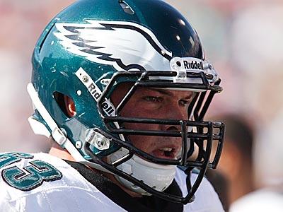Eagles lineman Danny Watkins. (Derek Gee/AP)