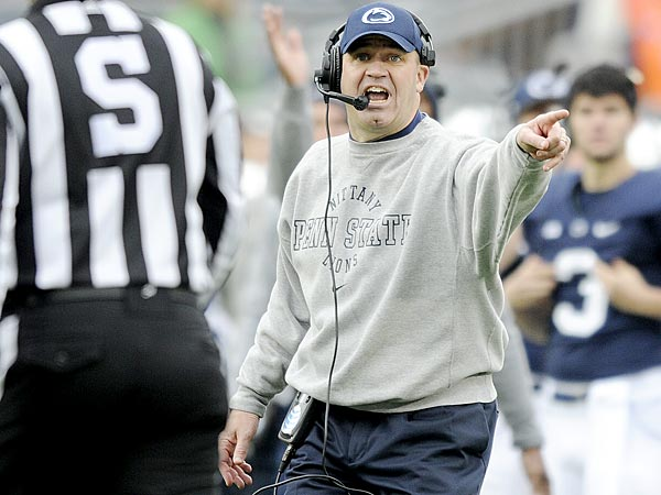 Penn State football coach Bill O´Brien. (AP/Centre Daily Times/Abby Drey)