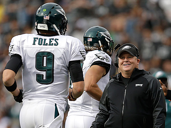 Eagles' Chip Kelly: Foles is my quarterback